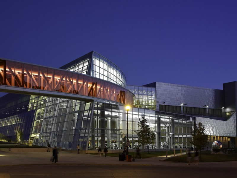 Moody Nolan Recreation Physical Activity Center RPAC - Ohio state architecture